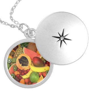 FRUIT VEGETABLES PERSONALIZED NECKLACE