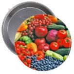 fruit & vegetables pin