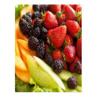 FRUIT VEGETABLES POST CARDS