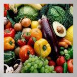 FRUIT  VEGETABLES POSTER
