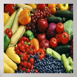 FRUIT & VEGETABLES POSTERS