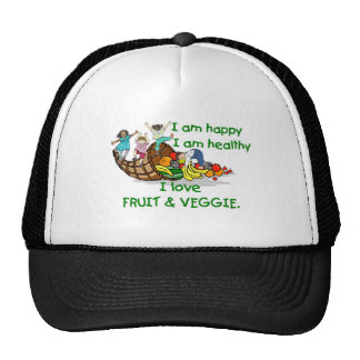 FRUIT & VEGGIE jpg Trucker Hat