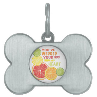 Fruit Wedged Pet ID Tag