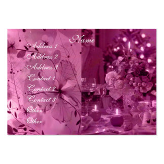 Fruit, Wine and Flowers Business Card