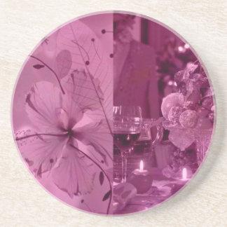 Fruit, Wine and Flowers Sandstone Coaster