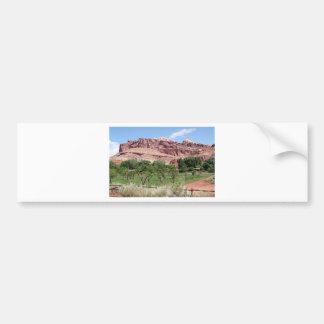Fruita, Capitol Reef National Park, Utah, USA 2 Car Bumper Sticker