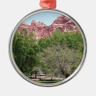Fruita, Capitol Reef National Park, Utah, USA 3 Metal Ornament