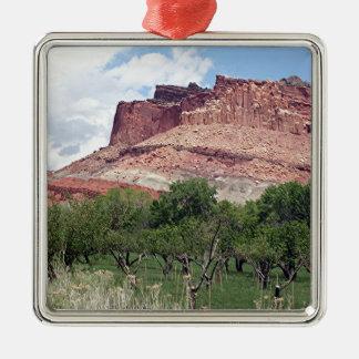 Fruita, Capitol Reef National Park, Utah, USA 5 Metal Ornament