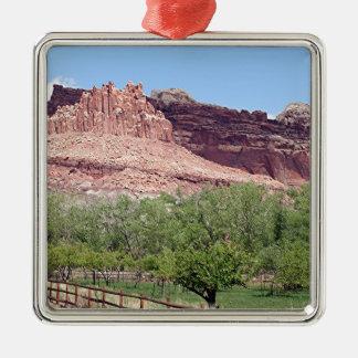 Fruita, Capitol Reef National Park, Utah, USA 7 Metal Ornament