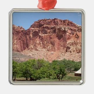 Fruita, Capitol Reef National Park, Utah, USA Metal Ornament
