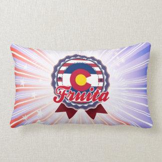 Fruita, CO Throw Pillows