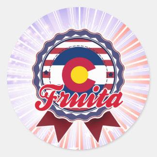 Fruita, CO Classic Round Sticker