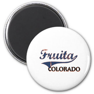 Fruita Colorado City Classic 2 Inch Round Magnet