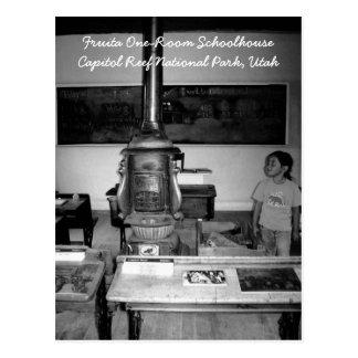 Fruita One-Room Schoolhouse Postcard