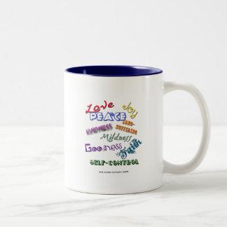Fruitage of Spirit Two-Tone Coffee Mug