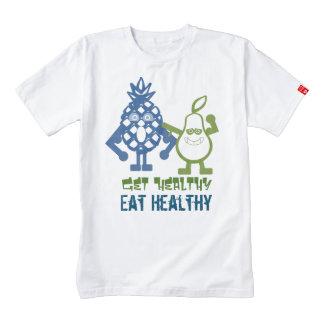 Fruitarian come la camiseta sana playera zazzle HEART