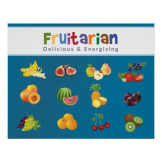 Fruitarian Poster