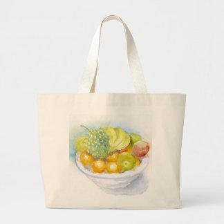 Fruitbowl jumbo tote jumbo tote bag