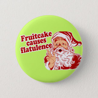 Fruitcake Causes Flatulence Button