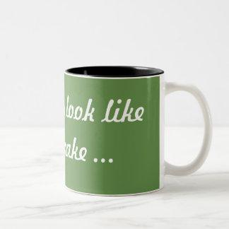 Fruitcake coffee mug