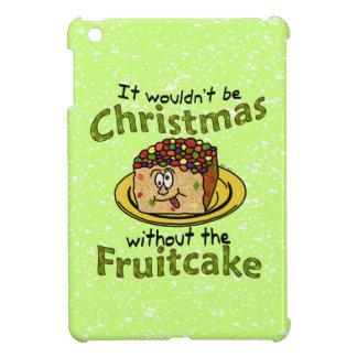 Fruitcake divertido del dibujo animado del navidad