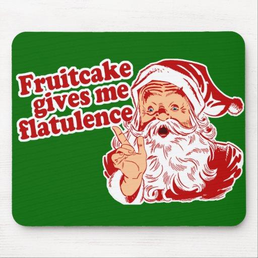 Fruitcake Flatulence Mousepad