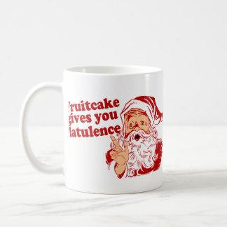 Fruitcake Gives You Flatulence Coffee Mug