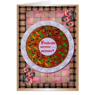 Fruitcake Holiday Cards