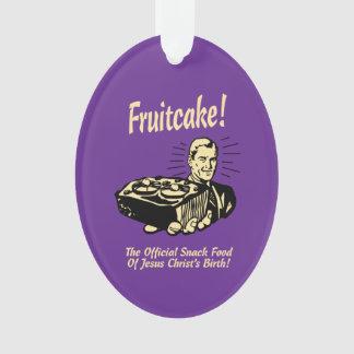 ¡Fruitcake! Los snacks del nacimiento de Jesús