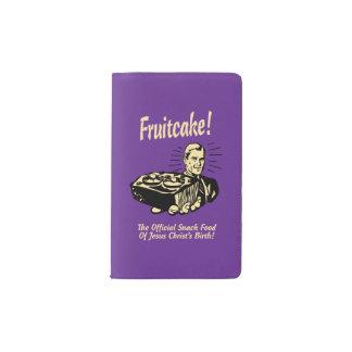 ¡Fruitcake! Los snacks del nacimiento de Jesús Funda Para Libreta Y Libreta Pequeña Moleskine