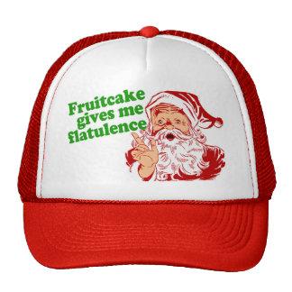 Fruitcake Makes Santa Fart Trucker Hat