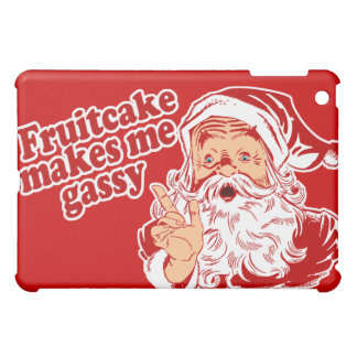 Fruitcake Makes Santa Gassy iPad Mini Cases