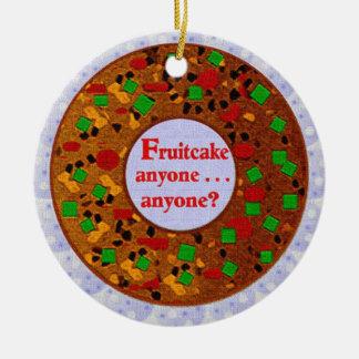 Fruitcake Ornament
