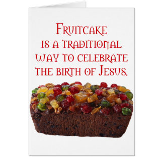Fruitcake Symbolic Card