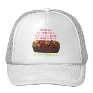 Fruitcake Symbolic Trucker Hat