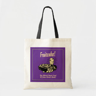 Fruitcake! The Snack Food of Jesus' Birth Canvas Bags