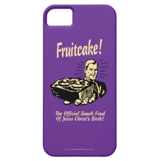 Fruitcake! The Snack Food of Jesus' Birth iPhone SE/5/5s Case