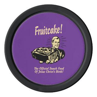 Fruitcake! The Snack Food of Jesus' Birth Poker Chips Set