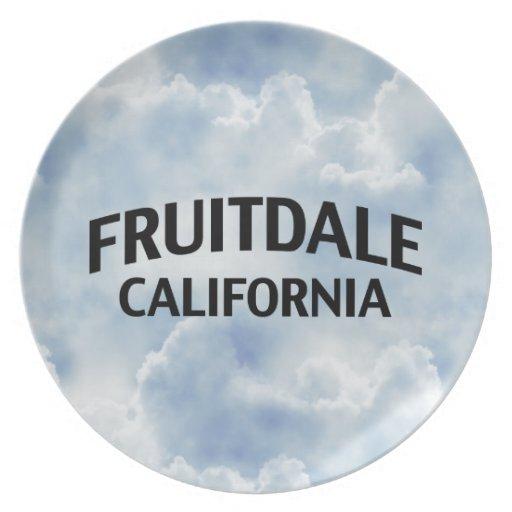 Fruitdale California Plates