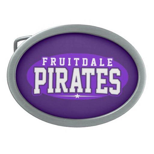 Fruitdale High School; Pirates Belt Buckle