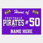Fruitdale High School; Pirates Lawn Signs