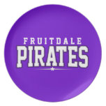 Fruitdale High School; Pirates Plates