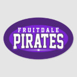 Fruitdale High School; Pirates Stickers