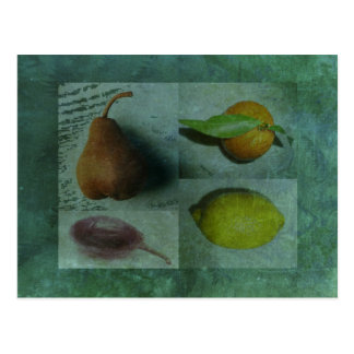Fruitful Odd One Out Postcard Post Card