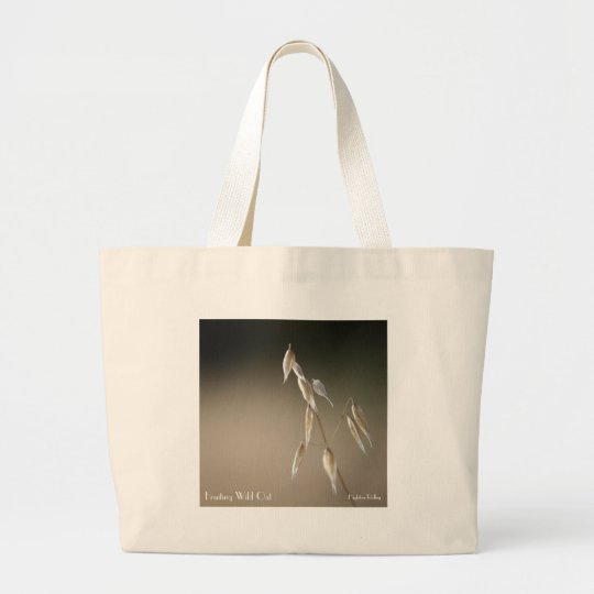 Fruiting Wild Oat Large Tote Bag