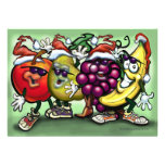 Fruitmas Gang Card Personalized Invite