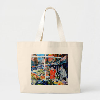 fruitnvegstall large tote bag