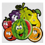 """Fruits 24""""x24"""" Poster"""