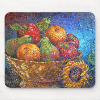 Fruits and Sunflower Painting Art - Multi Mousepad