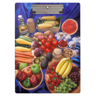 Fruits and vegetables clipboard